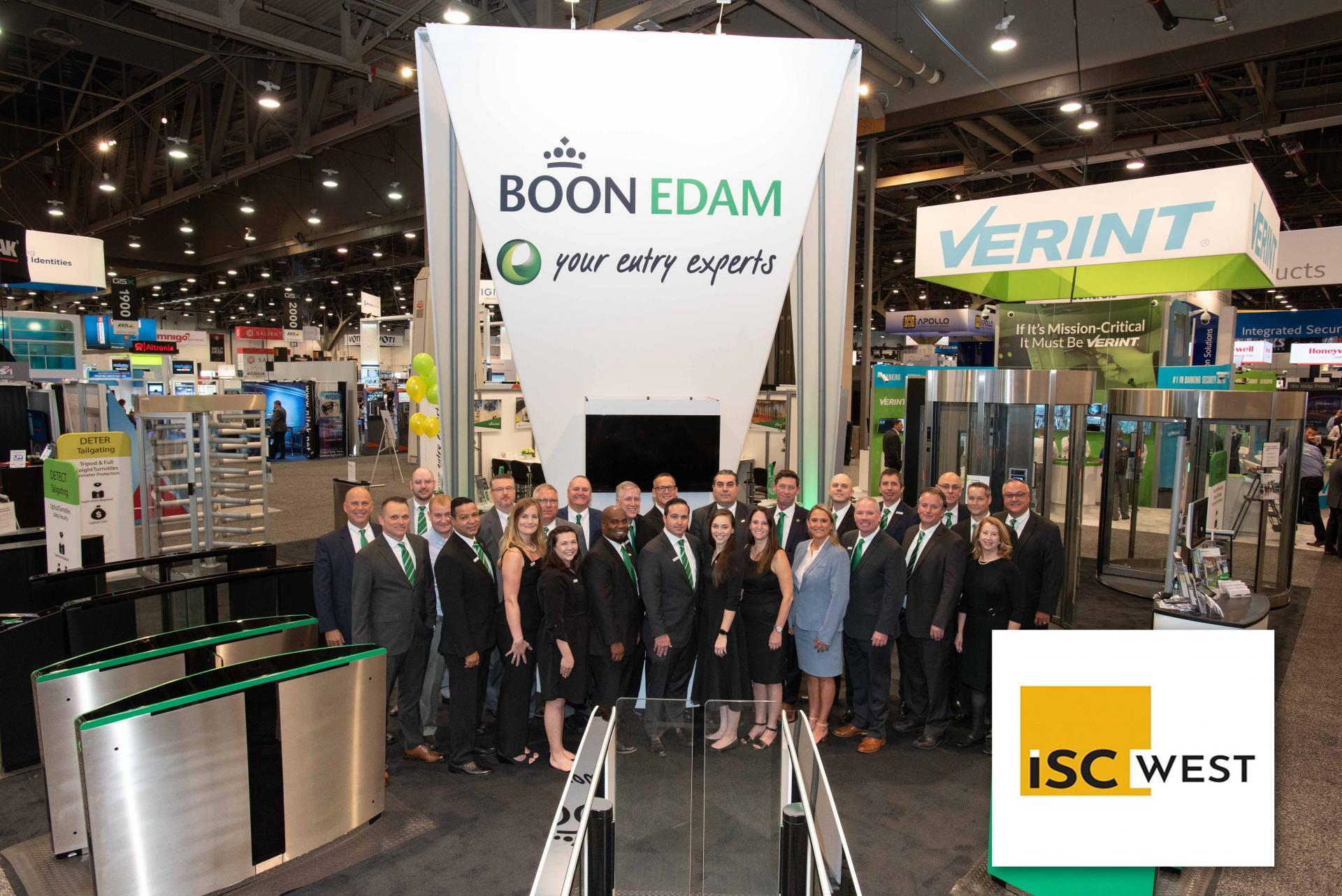 Boon Edam to Demonstrate Touchless, Automatic Security Doors and Turnstiles at ISC West (image)